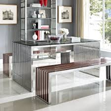 Kitchen Tables Online by Dining Tables Stainless Steel Table With Wheels Metal Dining