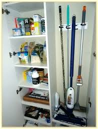 cleaning closet ideas broom mop storage cabinet broom storage cabinet storage cabinets