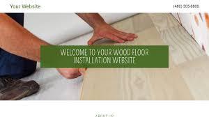Floor Installation Service Wood Floor Installation Website Templates Godaddy