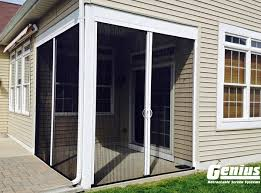 genius retractable screens retractable screen door screenmobile