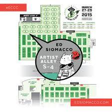 Tcc Map Emerald City Comic Con 2015 Edsiomacco Com