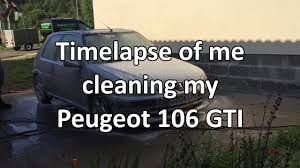 peugeot near me car cleaning time lapse peugeot 106 gti youtube