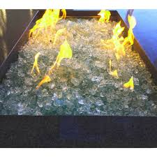 Glass For Firepit Element Aquamarine 1 2 Large Pit Glass Walmart