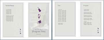 event program template word sogol co