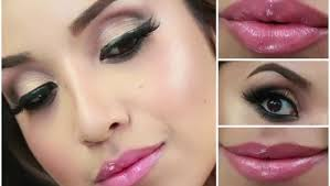 glam smokey brown eyes full face makeup tutorial by dulce candy dailymotion natural bridal
