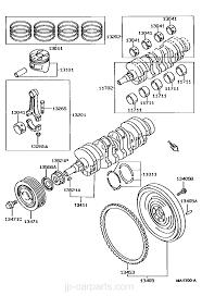 crankshaft u0026 piston toyota part list jp carparts com