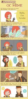 Professor Layton Meme - professor layton oc meme levette by miss sheepy on deviantart