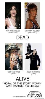 Keith Richards Memes - women cant handle their drugs weknowmemes