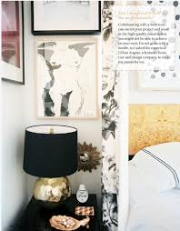 tiffany leigh interior design black and gold lamps so glam