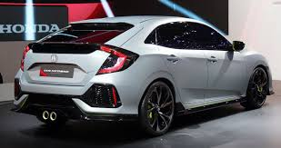 2017 honda civic hatchback ex limited 1 5l turbo in line 4