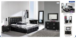 Gray Bedroom With Black Furniture Black Modern Bedroom Furniture