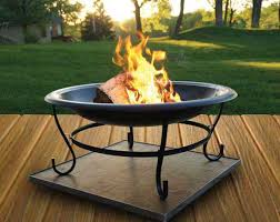 Firepit Pad Using A Pit On Your Deck Or Patio