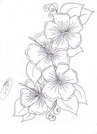 hawaiian flower coloring pages funycoloring