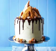 white chocolate cake recipe shard malted chocolate drizzle honeycomb cake recipe food