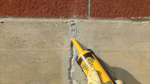 Cracked Concrete Patio Solutions by How To Repair Cracks In Vertical Concrete Surfaces With Quikrete