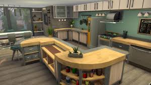 how to make a corner kitchen cabinet sims 4 a fresh modern kitchen using only base thesims
