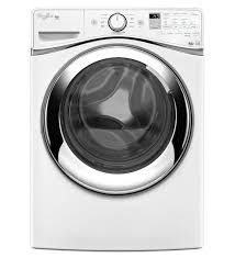 whirlpool 4 3 cu ft duet steam high efficiency washer with