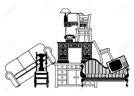 Be Home Furniture Illustration Of A Pile Of Furniture Could Be Used For Home