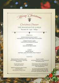 menu design for dinner party 13 best christmas images on pinterest christmas dinner menu menu