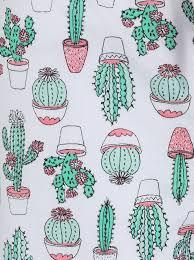 cactus print pyjama shorts women george at asda