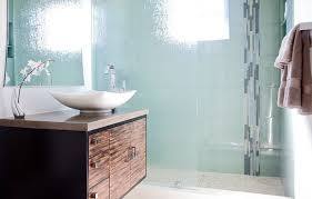 Glass Bathroom Showers How To Use Glass To Make A Splash And Enhance Your Décor