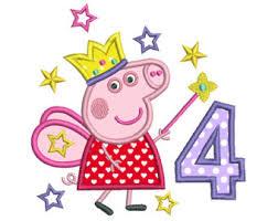 peppa pig fairy etsy