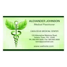 alternative medicine business card business card templates
