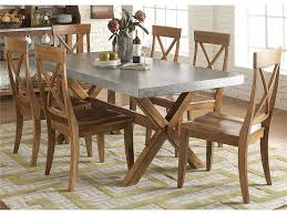 liberty furniture dining room 5 piece trestle table set 119 cd