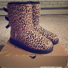 for 8 12 years ugg 12 ugg shoes ugg australia leopard bailey bow 8
