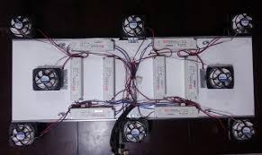 diy cree led grow light diy led grow lights with cree cxa3070 cobs and cpu coolers rollitup