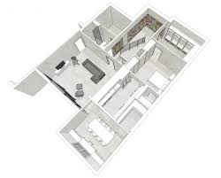 Grannypad Open Door Architecturehigh Rise Modern In A Suburban Basement