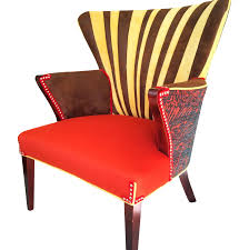 funky home decor online funky mid century wingback chair chairish image of loversiq