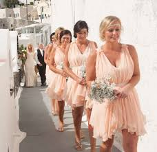 wedding consultant a stunning real wedding in santorini the bridal consultant