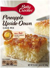 betty crocker pineapple upside down cake mix 21 5 oz box
