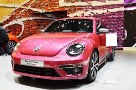 volkswagen new beetle pink military autosource visits the 2015 new york international auto
