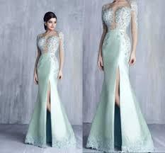 prom dresses mint green modest australia new featured prom