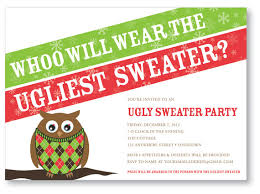 sweater invitations template best template collection
