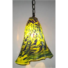 Yellow Pendant Light Artistic Pendant Lamps Artisan Crafted Lighting Designer Pendant