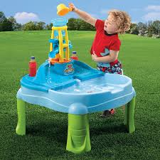 step 2 sand and water table step2 splash n scoop bay sand water table jcpenney