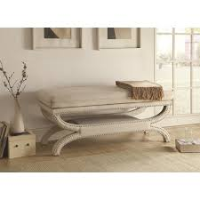 Upholstered Benches Benches Fully Upholstered Bench With Nailhead Trim