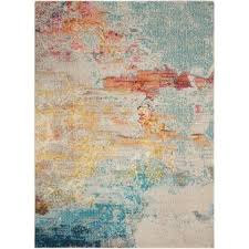 Abstract Area Rugs Modern Abstract Area Rugs Allmodern