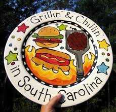 personalized ceramic platters 56 best grill plates platters images on grilling