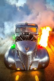 Old Ford Truck Engines - this airplane engine 1939 plymouth pickup is radically radial