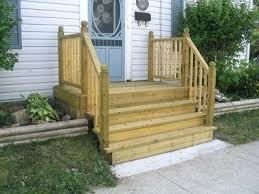 Back Porch Stairs Design Back Porch Steps Ideas How To Build A Four Step Porch For A Mobile