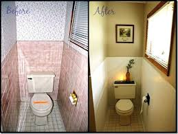 Wainscoting Over Tile Astounding Covering Bathroom Tile How To Cover Dated Bathroom Tile