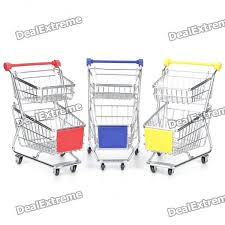 Mini Shopping Cart Desk Organizer Multi Function Mini Double Deck Cart Desktop U2013 Wholesale Multi