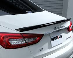 leap design ld quattroporte rearspoiler leap design carbon fiber rear