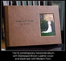 leather wedding photo album amazing wedding album by finao albums www finao acrylic
