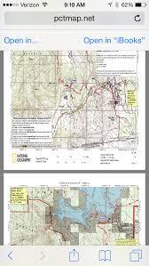 california map pdf maps halfmile s pct maps