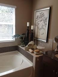 master bathroom decor around tub home decor pinterest